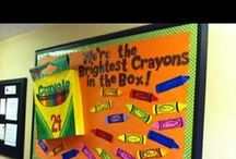 Beautiful Bulletin Boards and Classroom Doors / by Sheila Daughtry