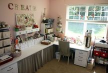 Craft Room Ideas / Some great ideas for my future dream craft room.