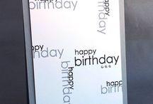 Birthday Cards / by Brittany Hamilton