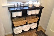 Reuse & DIY- Shelving, Pallets and Drawers / by Sort Your Stuff