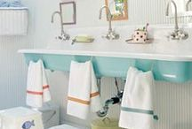 Bathroom Makeover / Ideas for renovating the bathroom in our early 1900's farmhouse. / by Julie Campbell