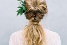Bridal Style / Inspiration for the 'big day' beauty.