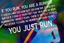 Running is my new craze! / My goal to run a marathon before I'm 50  / by Christy Marquez