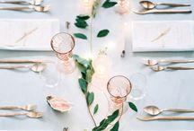 TABLE SETTINGS•