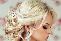 Cabelo de Noiva | Wedding Hairstyles / Wedding Hairstyles / by C.Arte Ateliê