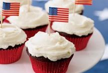 4th of July Crafts and Recipes / Show off your love for America with these craft and recipe ideas for the 4th of July and Memorial Day.