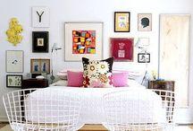 Spaces / Happy home spaces. Rooms. Decor.