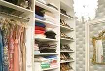 Sweet Closet Space Ideas / My current obsession: organized closet spaces.