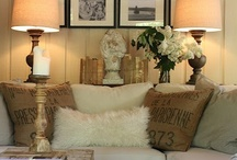 home / Ideas for my home and yours... French country, traditional, cottage, white on white, and eclectic rooms, furnishings and settings.  / by Skip Dampier