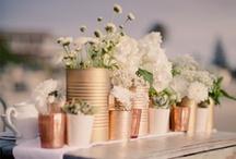 Tablescapes/Centerpieces/ Sweet Floral Arrangements