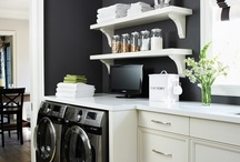 Home Decor - Laundry Room Decor and Tips / by Becky Gatch