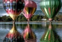 hot air balloons / by Heidi Ulrich
