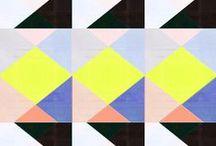 geo/stripes / by Rebecca Kerr