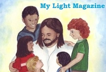 My Light Magazine / My Light Magazine is a Catholic centered magazine for children. The goal is to help Catholic and other Christian children nurture a deeper relationship with God. Many of our children know about God, but don't have that connection with Him. We aim to be a lightened path from our children to God himself.