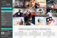 WordPress Theme / Showcasa of beautiful and creative WordPress Themes / by Pupixel Studio