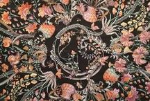 old world textiles / by Rebecca Kerr