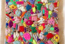 ⚡️ FABRIC and textiles - COLOUR inspiration⚡️ / Fabric obsession - colourful, unique and fun fabric