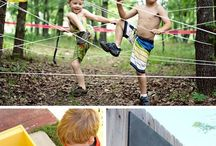 ⚡️Kids Play - activities and ideas for the great outdoors / Amazing outdoor spaces and things for kids to do outside!