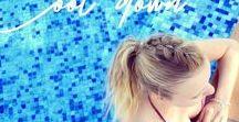 Lieblings - PFERDESCHWANZ - Frisuren / Haarinspirationen und Haarideen zum Thema Pferdeschwanz. Ein Pferdeschwanz kann ganz schlicht sein oder aber auch etwas ganz besonderes.