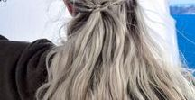 Lieblings - HALBOFFENE - Frisuren / Haarinspirationen und Haarideen zum Thema halboffene Haare und Frisuren