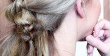 Lieblings - NICHT GEFLOCHTENE ZÖPFE - Frisuren / Haarinspirationen und Haarideen zum Thema nicht geflochtene Zöpfe und Haare