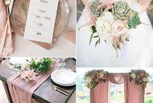 Bryllupstemaer / Fargekart og temaer