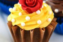 Beauty & The Beast Cakes