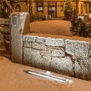 Retaining walls. Подпорные стены made by СпецПаркДизайн / #retainig #walls made of #granite #sandstone #bricks #wood and so on.