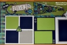 Paper Inspiration: Scrapbooking / Inspiration from fellow consultants-CTMH and others
