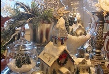 christmas village ideas / by Charmaine Helton