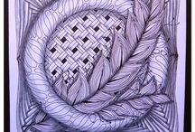 Tangled/Inspiration / Zentangle and Doodle Art / by Helen McMaster
