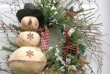 """""""Vintage Christmas"""" with RUSTIC charm"""" plus Modern !! / by Ruthann Smithson Curtis"""