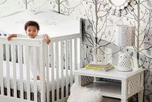 cute cribs, no bumpers / Cute bumper-free cribs for your baby's nursery