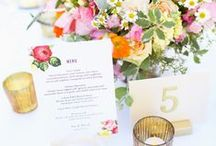 Reception Stationery / by Wedding Paper Divas