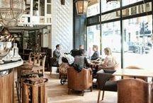 Bar/Restaurant interior / by Lien Dobbelaere