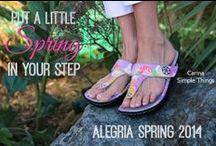 Alegria Spring 2014 / Alegria Shoes Spring 2014  / by Alegria Shoe Shop