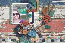 Etc Creative Inspiration / Beautiful memories kept in digital/hybrid scrapbooking creations with Etc by Danyale Products