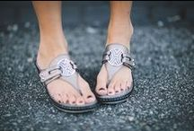 Alegria Shoes Lola Sandal / The Alegria Lola thong sandal by Alegria Shoes features a wedge heel with Alegria's patented footbed technology built right in!  Designed for day and night comfort, your feet will be happy with the fashionable Lola from Alegria Shoes! / by Alegria Shoe Shop