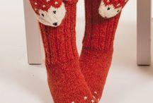 Kivoja vaatteita / Kettu sukat ja lapaset