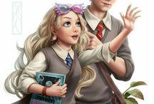 Neville x Luna