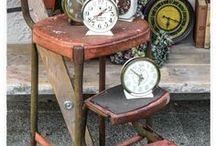 Es la hora / Relojes antiguos Coleccionables Decoración