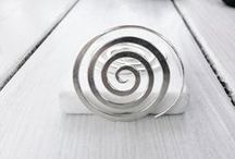 silver lining.. / handmade silver jewellery
