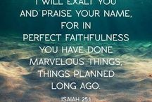 scripture and sayings to live by / by C