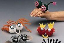 Kid Crafts / by Jill Barron