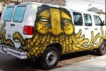 Street Works: Art Writers Of The World / Street Art / by Janet Hale