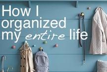 organize / by Ruth Ilena