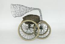 Art - sculpture and installations / by Lies van der Velde