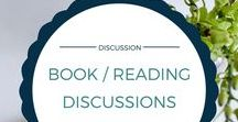 Book / Reading Discussions / Discussion posts about all things books and reading.