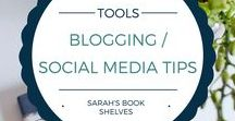 Blogging/Social Media Tips / Tips to become a better book blogger and social media marketer.