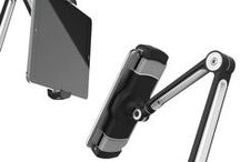 PUR Tablet/Phone Stand - Black / Pur Adjustable Tablet/Cell Phone Universal Mount Stand.